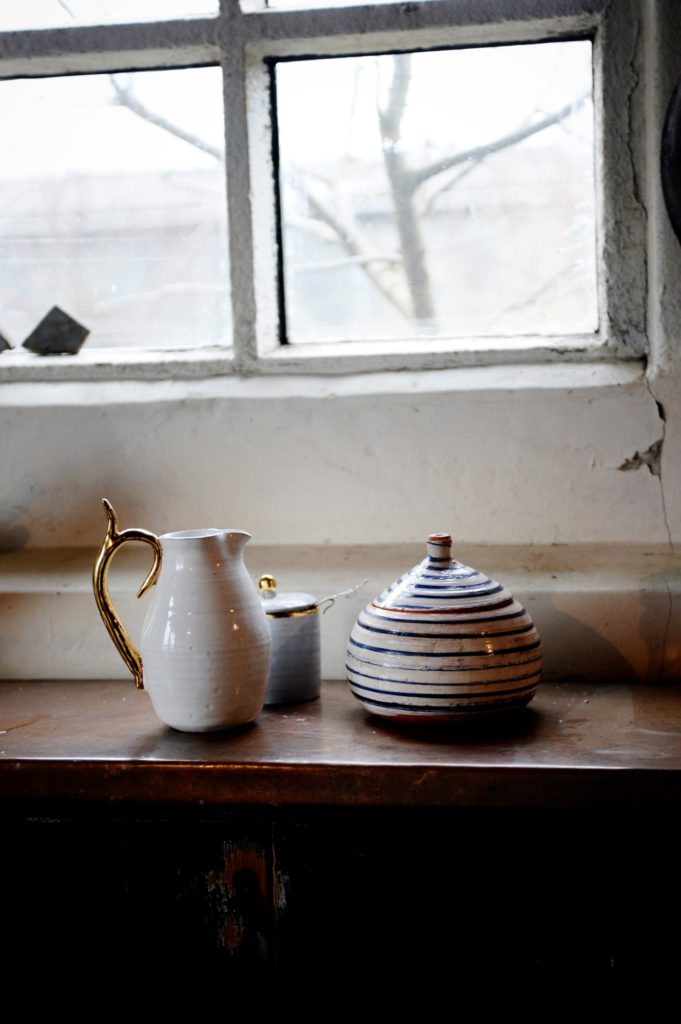 Jug € 150.00 Sugar bowl € 90.00